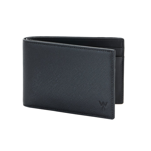 RFID Blocking Slim Leather Wallet by Würkin Stiffs Black - Wilson Street - Wurkin Stiffs - 2