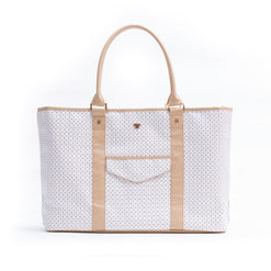 VIP Travel Tote - White Dunes