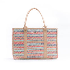Luxury Travel Tote - Sunset Tides