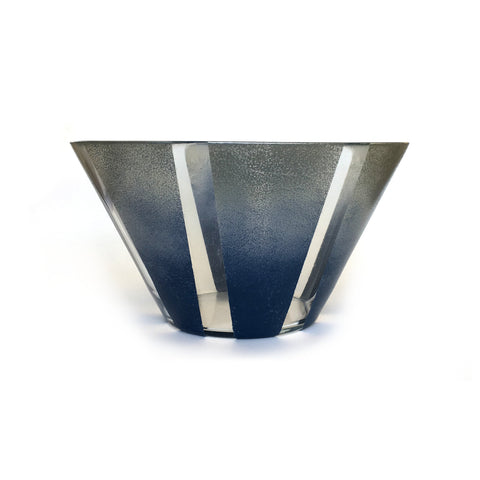 Hand Painted Stripes Bowl by Abbey Wolin