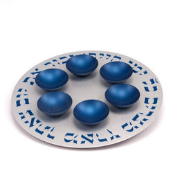 Seder Plate with Bowls by Agayof Blue - Wilson Street - Agayof - 1
