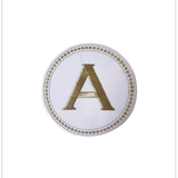 Embroidery Patch Gold / White - Wilson Street - Toss Designs - 7