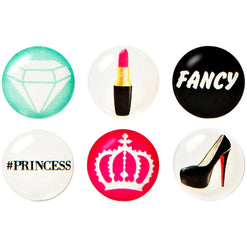 Fancy Home Button Sticker Pack  - Wilson Street - iDecoz - 1