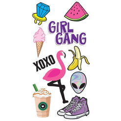 Girl Gang Restickable Decal Pack  - Wilson Street - idecoz - 1