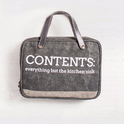 Kitchen Sink Cosmetic Bag  - Wilson Street - Mona B. - 1