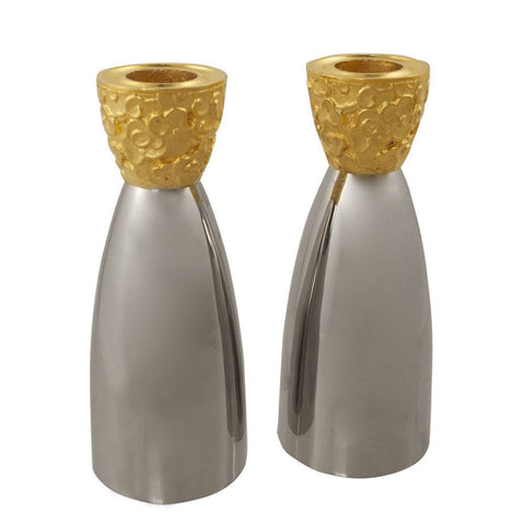 Clouds Gold Candlesticks  - Wilson Street - Quest Collection