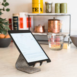 Stanley - A leather phone / tablet stand that bends  - Wilson Street - Distil Union - 5