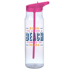 Born to Lie on A Beach Water Bottle  - Wilson Street - Slant Collection