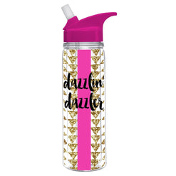 Dazzlin Dazzler - Double Wall Acrylic Water Bottle  - Wilson Street - Slant Collection