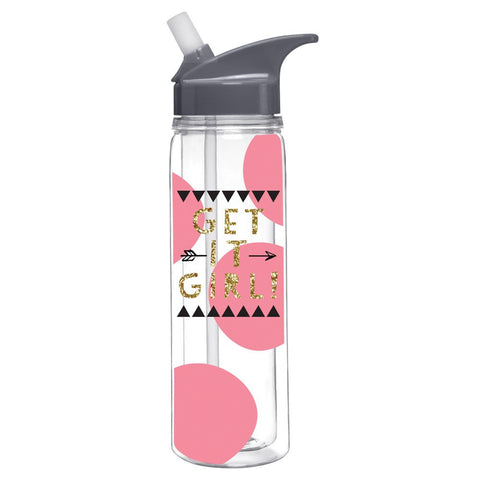 Get It Girl Water Bottle  - Wilson Street - Slant Collection