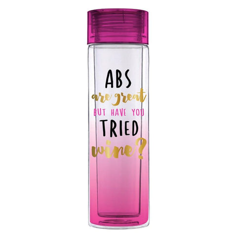 Abs are great...try Wine -  Double Wall Acrylic Water Bottle  - Wilson Street - Slant Collection