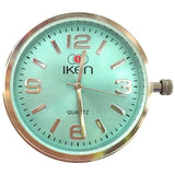 Swappable Face Aqua Marine - Wilson Street - Iken Watches - 10
