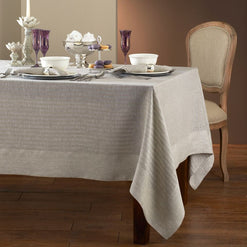 Greenwich Tablecloth - Coated for Easy Care - 2 Colors  - Wilson Street - Mode Living - 1
