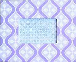 Mod Picture Frame - Colors Lavender - Wilson Street - Renditions by Reesa