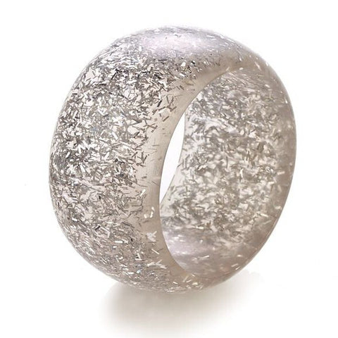 Sparkle Silver Napkin Rings - Set of 4  - Wilson Street - Bodrum