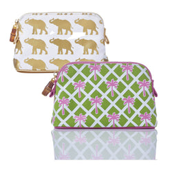 Sabrina Petite Canvas Cosmetic Bag  - Wilson Street - Toss Designs - 1