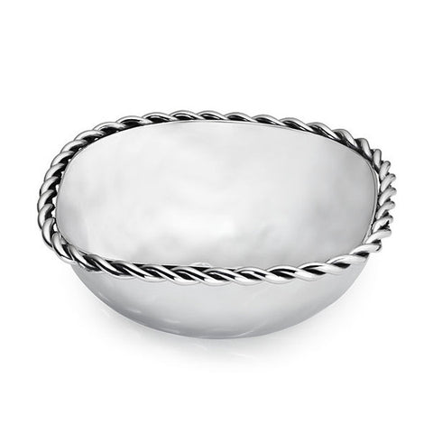 Paloma Square Bowl w/Braided Wire  - Wilson Street - Mary Jurek Design