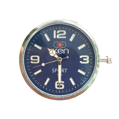 Swappable Sport Face Navy - Wilson Street - Iken Watches - 5