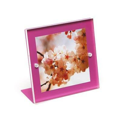 Square Metal Back Magnet Frame Pink - Wilson Street - Canetti Design Group - 2