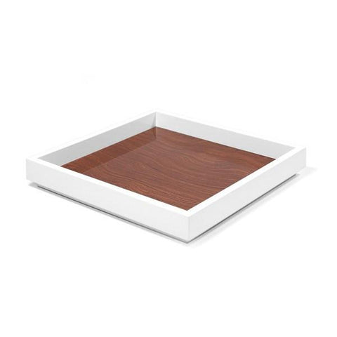 Aura Lacquer Trays with Walnut Cocktail - Wilson Street - Swing Design - 3