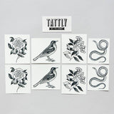 Flora and Fauna Set of Temporary Tattly Tattoos  - Wilson Street - Tattly - 5