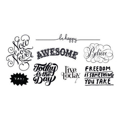 Inspirational Set of Temporary Tattly Tattoos  - Wilson Street - Tattly - 1