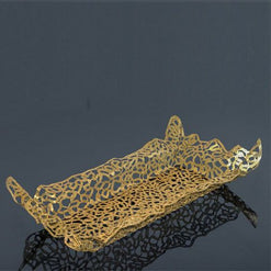 Wildlace Tray with Acrylic Insert Gold - Wilson Street - Metalace - 1