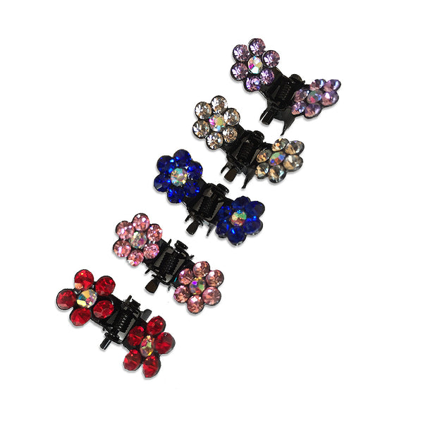 Crystal Flower Small Dog Hair Claws