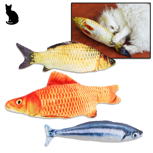 Life Like Catch of the Day Fish Cat Toy