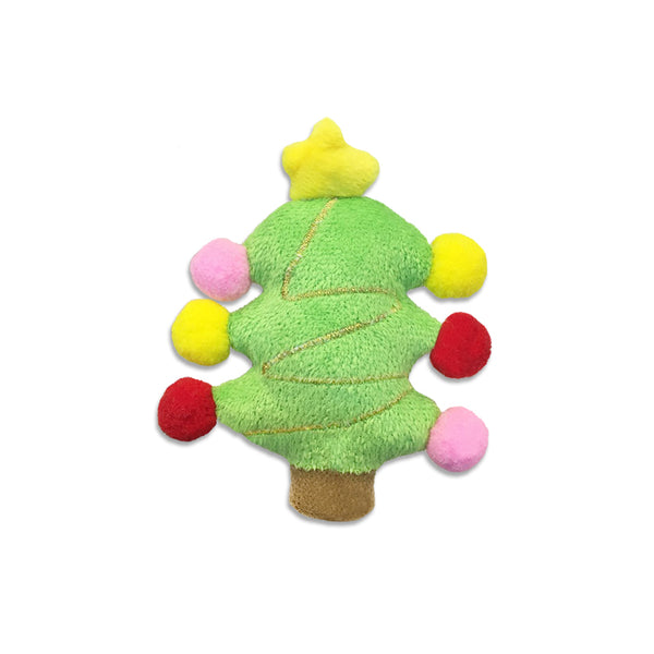 Mini Christmas Tree Small Dog Toy