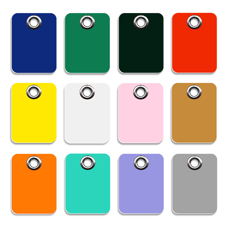 Plastic Rectangle Shape Small Dog ID Tag, ID Tag, Small Dog Mall, Small Dog Mall