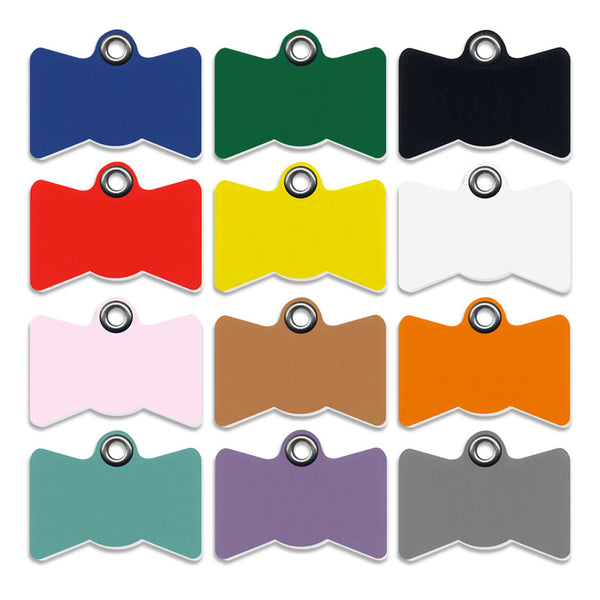 Plastic Bow Tie Shape Small Dog ID Tag, ID Tag, Small Dog Mall, Small Dog Mall