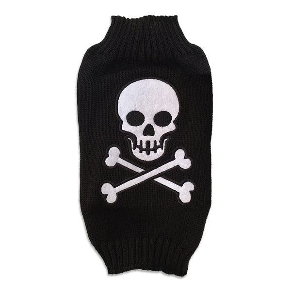 Bad To The Bone Small Dog Sweater