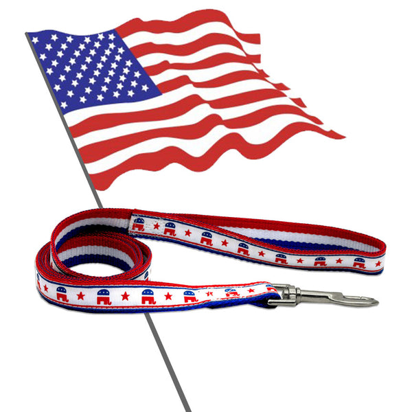 Bark the Vote Republican Dog Leash