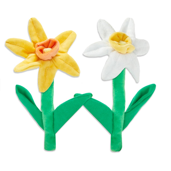 Spring Daffodil Dog Toy