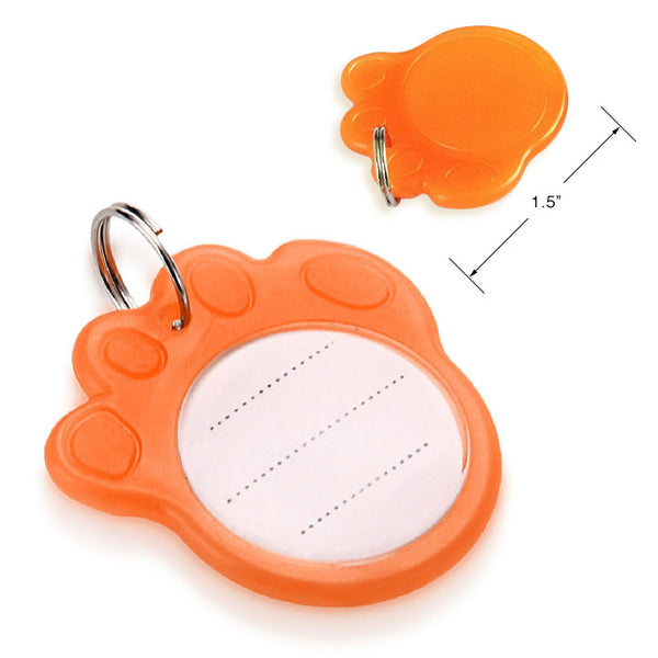 DIY Paw Shape Pet ID Tag, Small Dog Mall