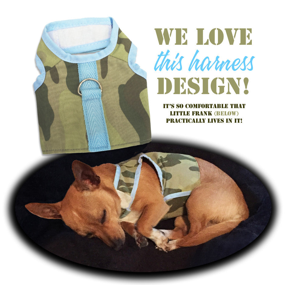 Doggles® Camo Vest Style Small Dog Harness