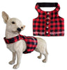 Doggles® Flannel Buffalo Check Vest Style Small Dog Harness