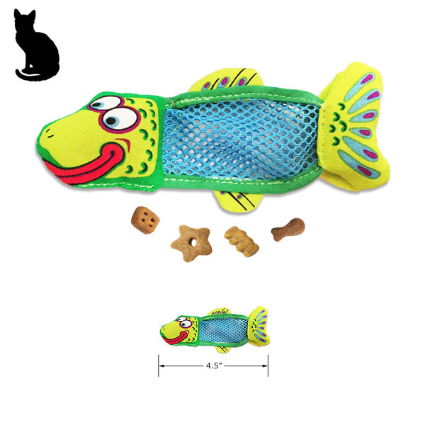Fat Cat Fish Sticks Organic Catnip Treat Cat Toy