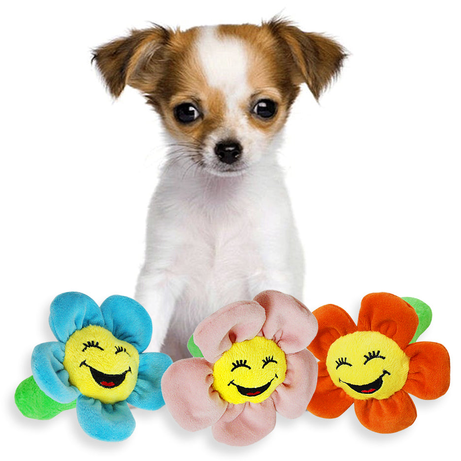Happy Little Flower Small Dog Toy, Small Dog Mall