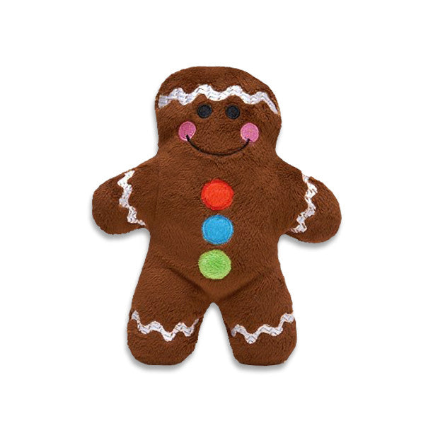 Gingerbread Man Small Dog Toy, Christmas, Small Dog Mall, Small Dog Mall - Good things for little dogs.  - 1