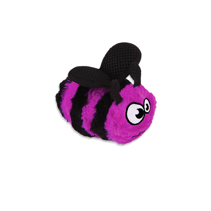 GoDog Little Purple Bee Small Dog Toy
