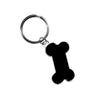 Enamel Dog Bone Key Fob, , People Pleasers, Small Dog Mall, Small Dog Mall - Good things for little dogs.  - 1