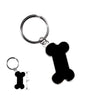 Enamel Dog Bone Key Fob, , People Pleasers, Small Dog Mall, Small Dog Mall - Good things for little dogs.  - 2