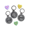 Endearment Dog Collar Charms, , Valentine's, Small Dog Mall, Small Dog Mall - Good things for little dogs.  - 1