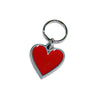 Red Enamel Heart Dog Collar Charm, , Collar Pendant, Small Dog Mall, Small Dog Mall - Good things for little dogs.  - 1