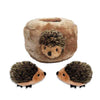 Zippy Paws Hedgehog Den Small Dog Toy