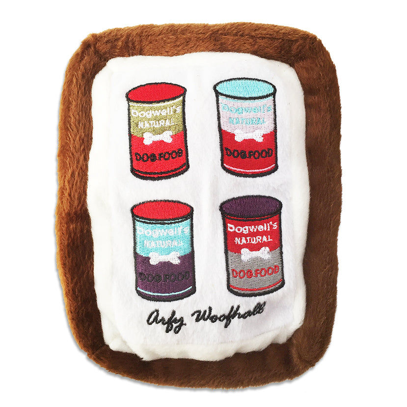 Art of Play Arfy Woofhall Painting Dog Toy