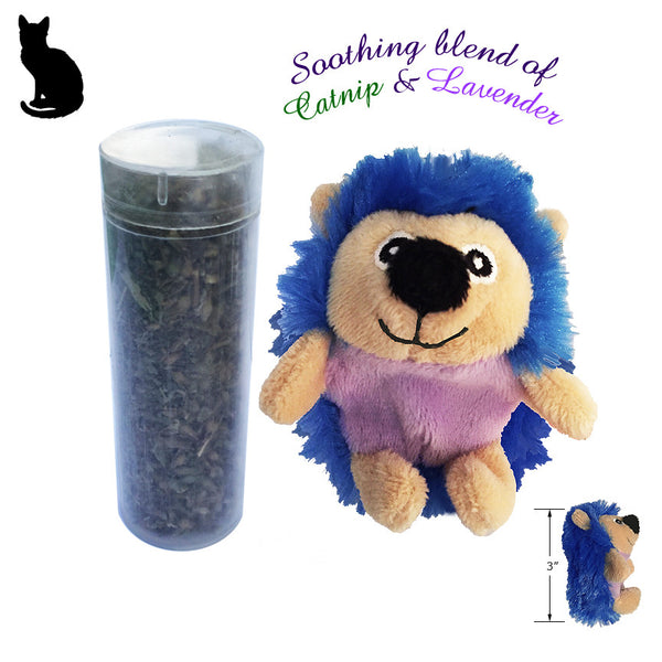 Kong Refillable Catnip & Lavender Hedgehog Cat Toy