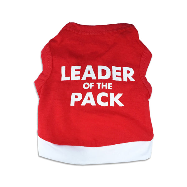 Leader Of The Pack Small Dog Tank Tee